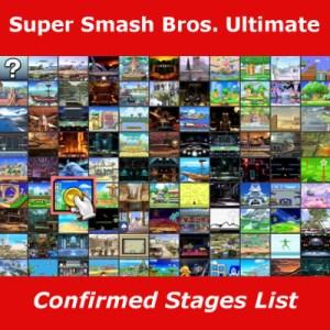 Confirmed Stages List for Super Smash Bros. Ultimate