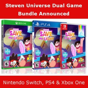 Steven Universe Ok Ko! Bundle, Switch, PS4 & Xbox One