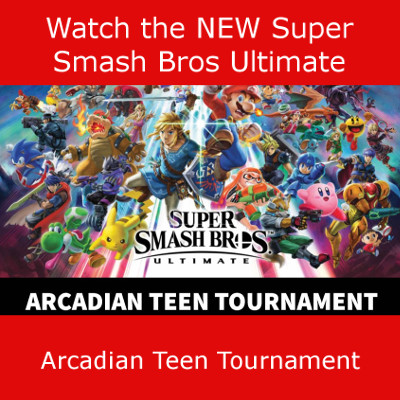 Watch the NEW Super Smash Bros. Ultimate Arcadian Teen Tournament