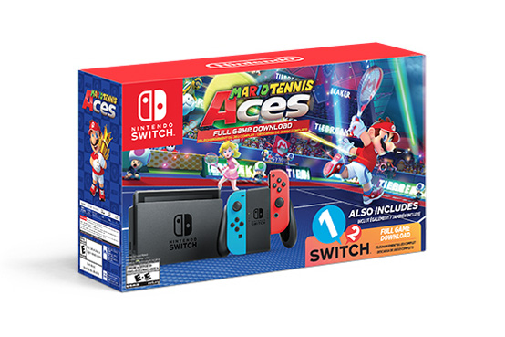 Mario Tennis Aces Switch System bundle