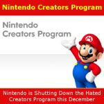 Nintendo Ending the Nintendo Creators Program