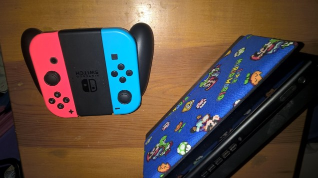 Switch Dock with Mario TV Dock Cover