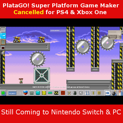 PlataGO cancelled for PS4 and Xbox One