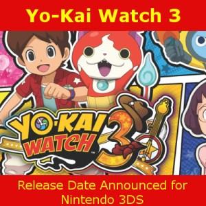 Yo-Kai Watch 3 Release Date