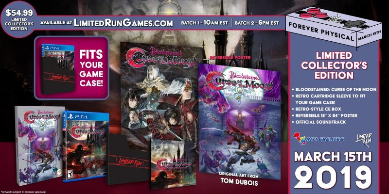 Limited Run, Bloodstained Curse of the Moon