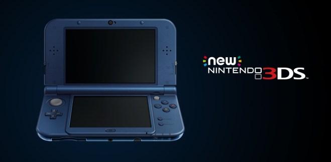 The NEW Nintendo 3DS - Blue - XL