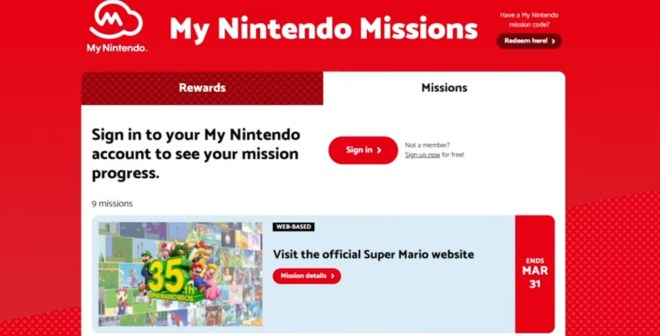 My Nintendo Missions for Mario Pin Set