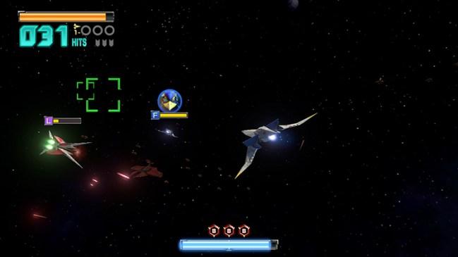 Star Fox Zero, Dog Fight with Enemy