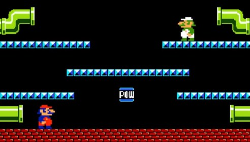 Super Mario Bros Arcade Screenshot