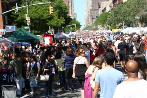 9th Avenue Food Festival in New York City