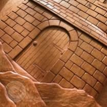 Detail of the door.