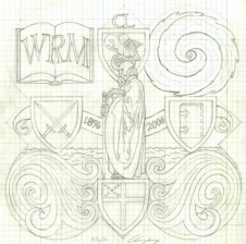 The design drawing for the 2006 Form plaque.