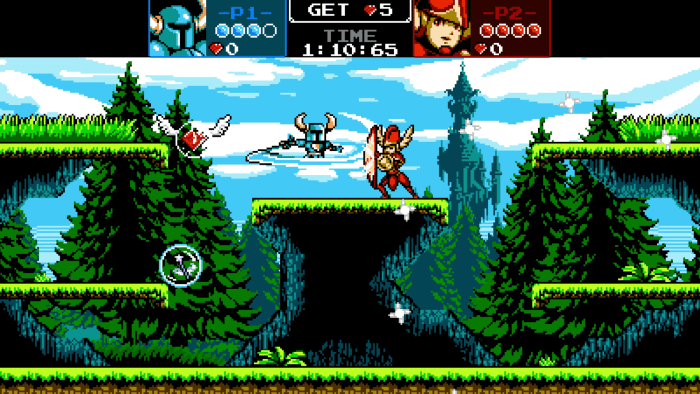 Shovel Knight Showdown Switch Gameplay Screenshot