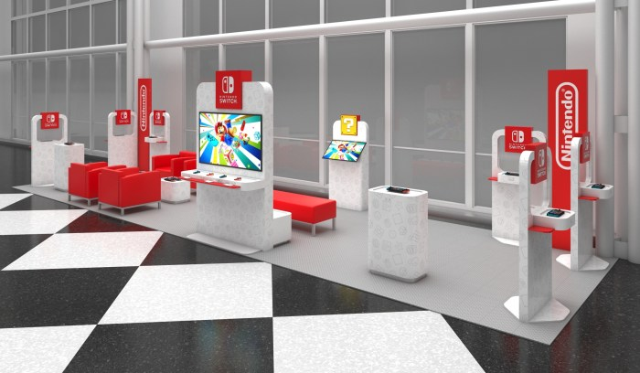 Nintendo Switch lounges