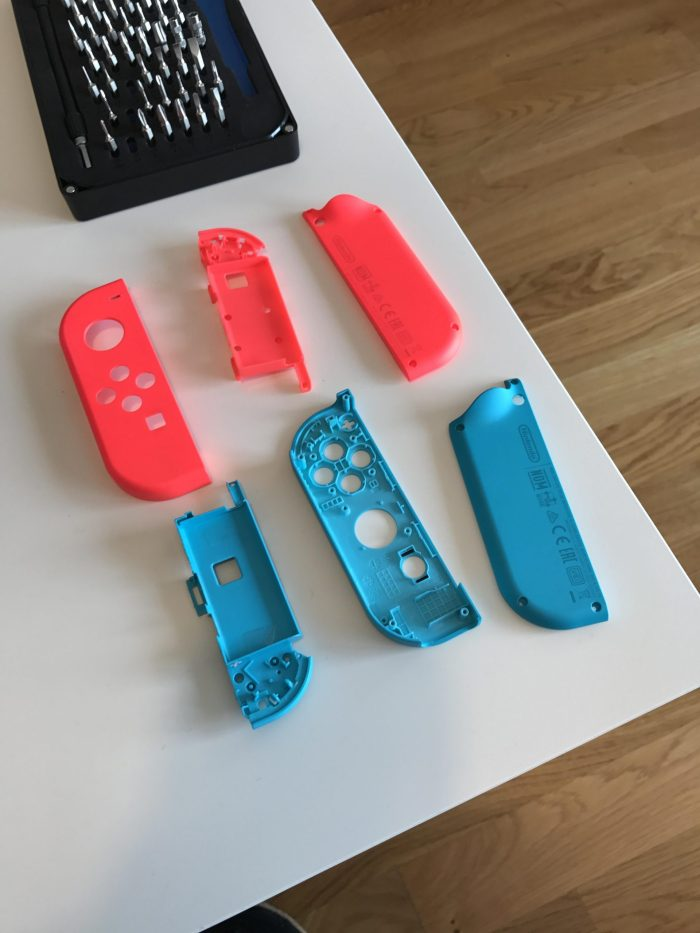 paint Switch controllers