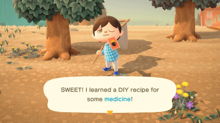 How to farm DIY recipes in Animal Crossing