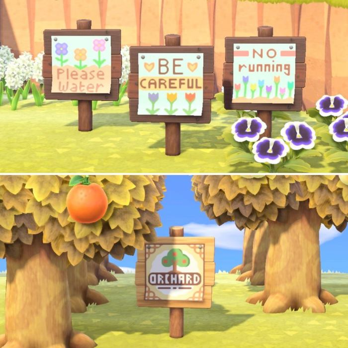 Animal Crossing Signs 15 Great Signs For Your Island Ninty Gamer