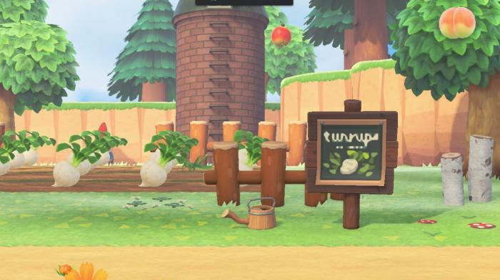 Animal Crossing signs turnips