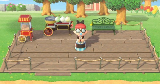 Animal Crossing deck patterns