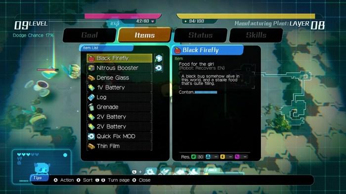 Void Terrarium tips item list