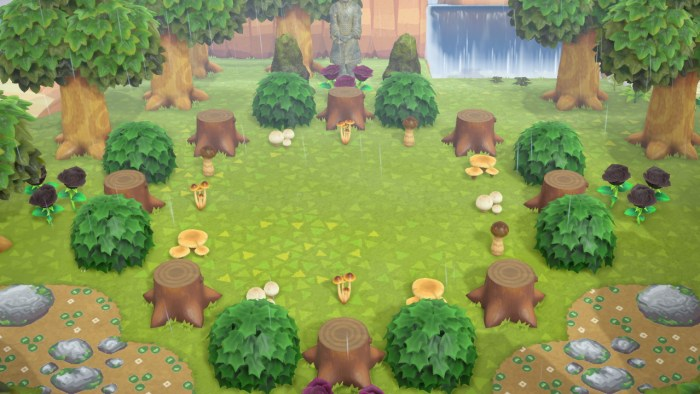 Animal Crossing garden