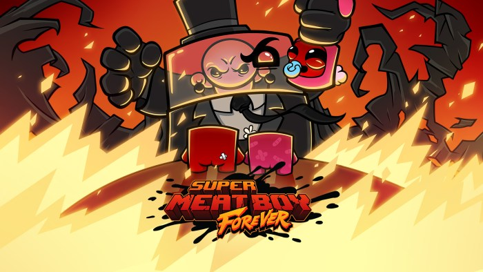 Super Meat Boy Forever Switch hero