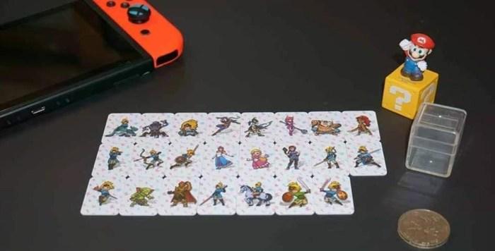 botw amiibo cards