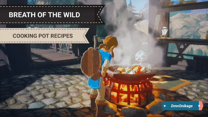 botw cooking recipes