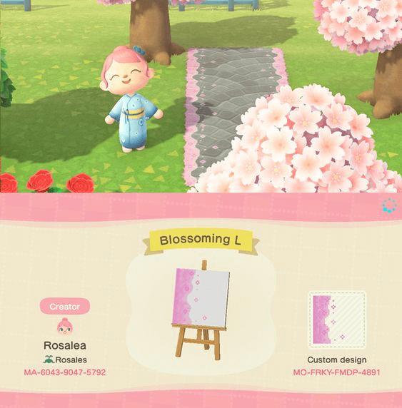 cherry blossom border