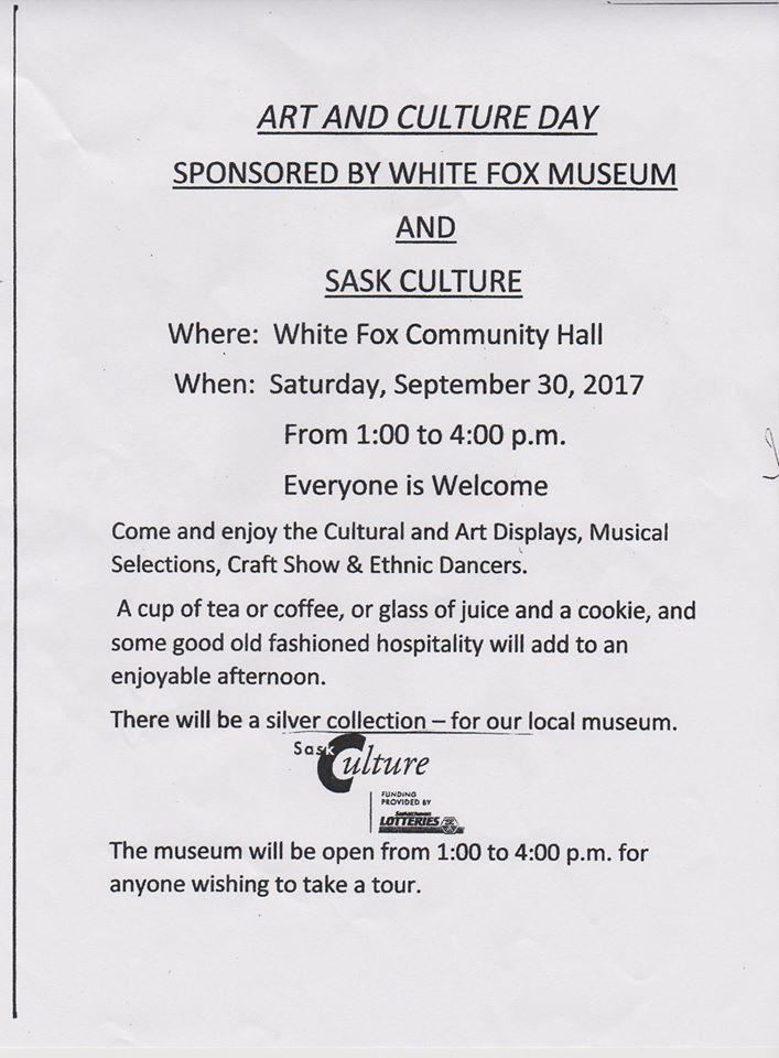 Art and Culture Day - White Fox