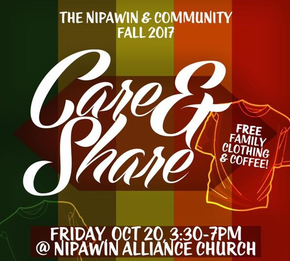 Nipawin & Community Fall 2017 Care & Share