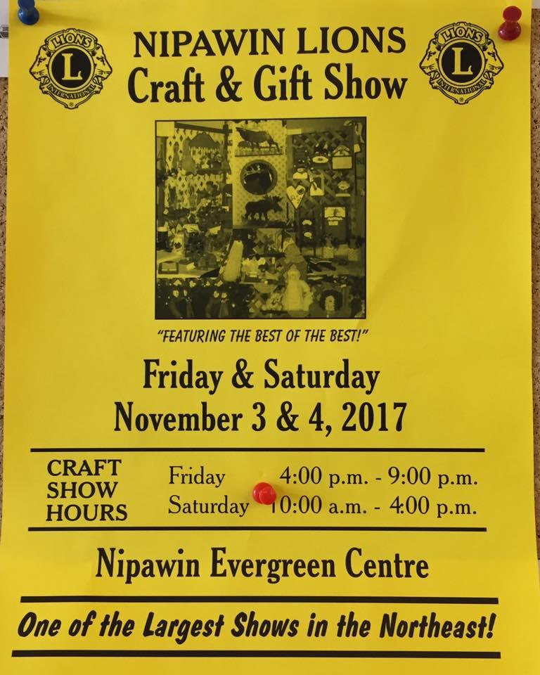 Nipawin Lions Craft & Gift Show