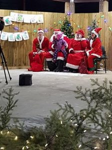 Santa Claus at the BID town square. Photo credit Norm Rudock/CJNE/Nipawin BID
