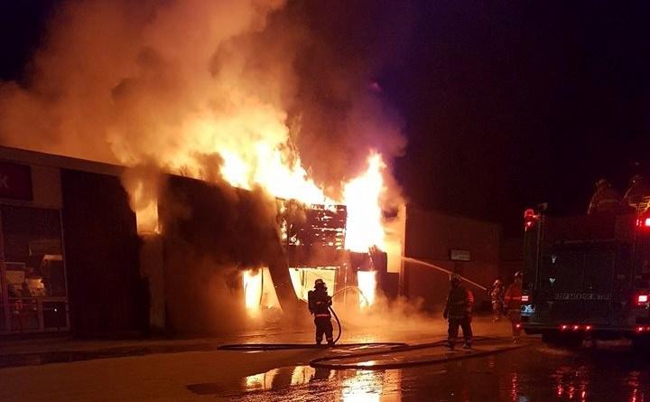 Hudson Bay Fire - Charmain Hayworth