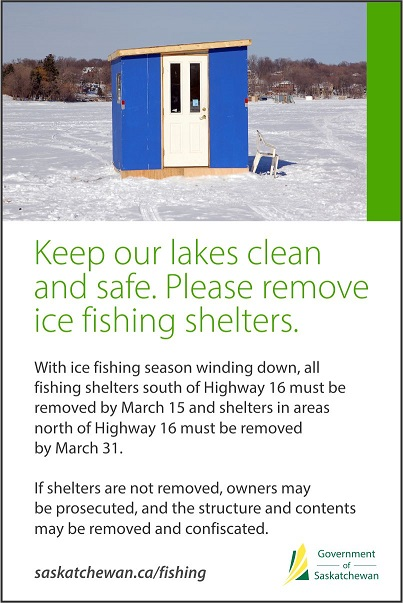Ice Shelter Deadline