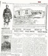 Lethbridge Daily Herald newspaper clipping about the Streetsville Junction train wreck