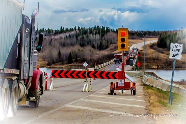 Bridge construction zone speeder sees $1,100 fine