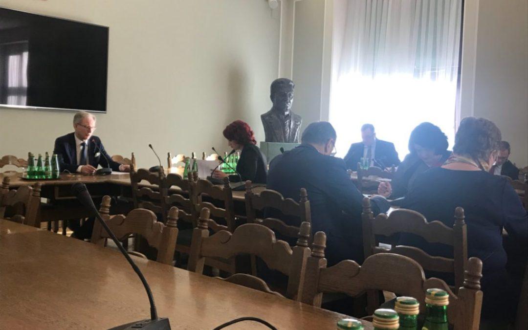 Posiedzenie Podkomisji stałej ds. organizacji ochrony i innowacyjności w medycynie