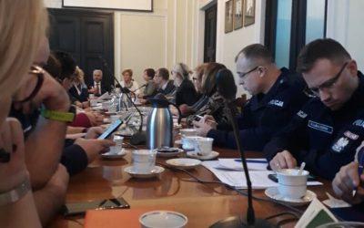 Spotkanie w sprawie agresji wobec personelu medycznego