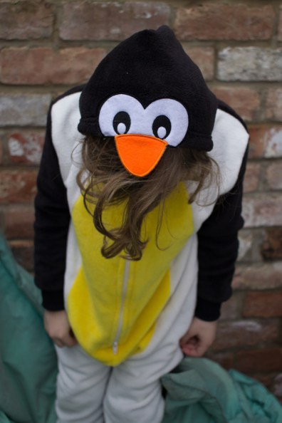 Euan in penguin onesie for Pyjama Factory review 2 - nipitinthebud.co.uk