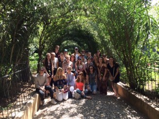 La Alhambra - group shot