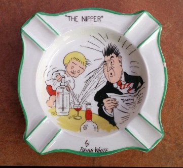 Nipper Ashtray
