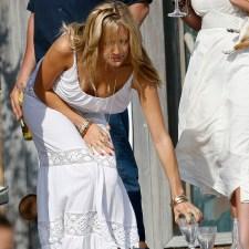 Kristin Cavallari boob slip, downblouse