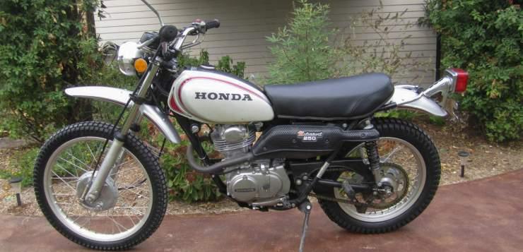 Honda SL 250