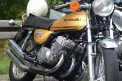 Kawasaki KH 250 – Schwergewichtiger Triple