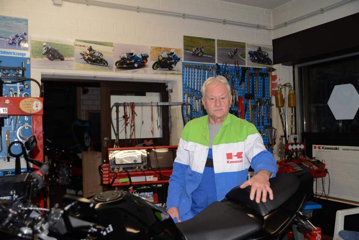 Kawa-Toni – ein Motorrad-Urgestein aus Seligenstadt