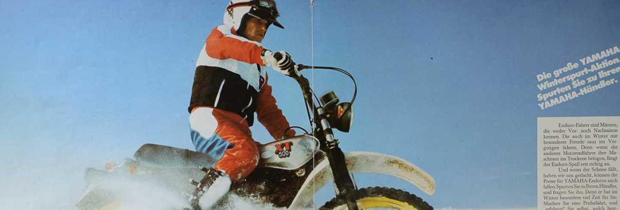 1981 Yamaha XT500 Prospekt