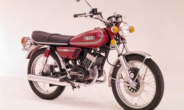 Yamaha RD 125 von 1973 (Foto: Yamaha)