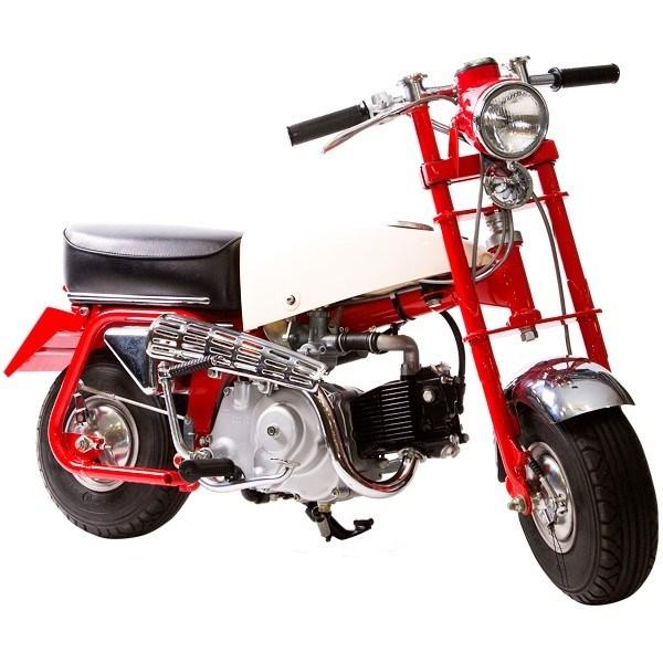 Heutzutage erzielt die seltene Honda Ur-Monkey Höchstpreise