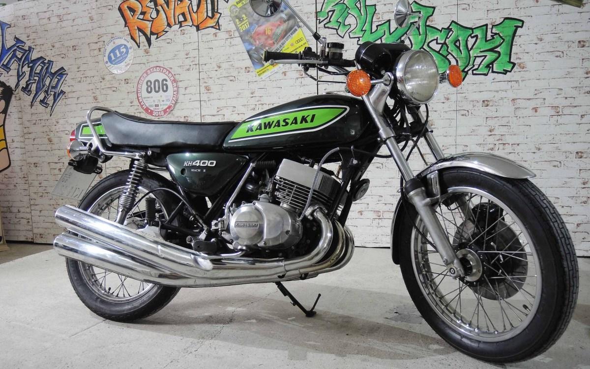 Kawasaki KH 400 (400 S3) - Vernunft-Evolution